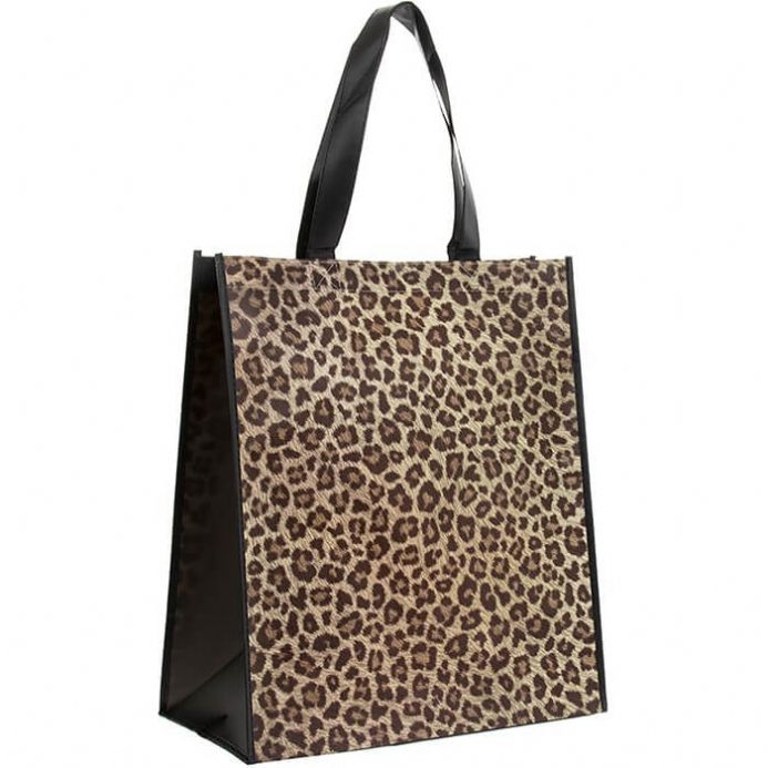 Wild Side Leopard Shopper Bag